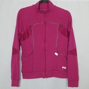 Fila Sport Pink Jacket Size Medium